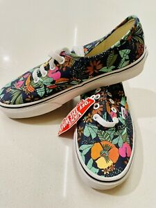 Vans Classic Skate Shoes Rare Floral Womens 6.5 US Sneakers [WS2]