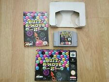 Retro Nintendo 64 N64 Bust A Move 2 Arcade Edition Game Boxed with Instructions