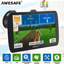 AWESAFE 9 Zoll GPS Navigationsgerät für LKW Navi Navigation mit 8GB Europakarten