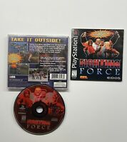 Fighting Force (Sony PlayStation 1, 1997) COMPLETE TESTED!! PS1