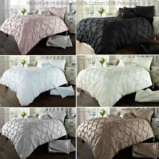 Alford Pintucks Luxurious Duvet Covers Quilt Covers and Bedding Sets All Sizes