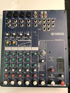 Yamaha MG82CX Mixer, Tested,, yamaha mixer,