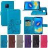 Cover per Huawei Mate 20 Pro 9 10 Lite Nova 5 Flip custodia portafoglio in pelle