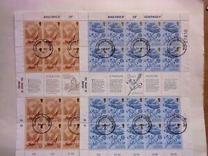 GB GUERNSEY:1981 Europa/Folklore Full Sheets(2) VFU Sg230/31