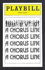 "Bebe Neuwirth (Debut) ""A CHORUS LINE"" Michael Bennett 1979 Philadelphia Playbill"