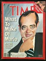 TIME MAGAZINE June 2 1986 MARIO CUOMO / Cocaine / Smoking Ban / Chile's Pinochet