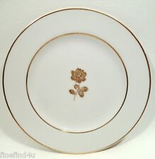 """Gold Rose by Sango Fine China 6 5/8"""" Bread & Butte Plate(s) Nice! Minty!"""