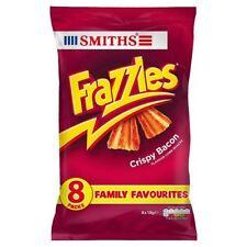 Smiths Frazzles Crispy Bacon Snacks 18g x - 8 per pack (0.32lbs)