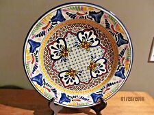 Decorative  Pue Mex Traditions Hand Painted Plate  12.5""