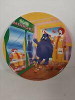 VTG 1993 McDonald's Plate Fun Mirrors Grimace Ronald Mcnuggets Plastic PMC