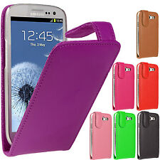 2X Magnetic Top Flip PU Leather Wallet Phone Case Cover For Samsung S3/S4/S4Mini