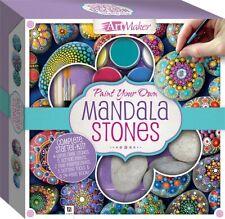 Childrens Craft Sets - Mandala Rocks, Pebble Painting Kit Set Mandala Stones