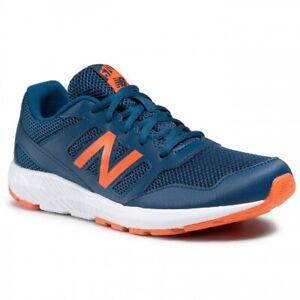 New Balance 570, Sneakers Bambino navy, chiusura strappo, Scarpe Sportive Casual