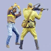 1/35 Resin Soviet Soldier attack a Rebel Unassembled Unpainted BL900