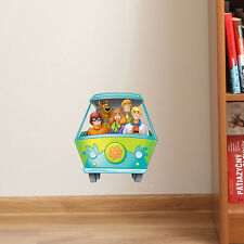 Scooby Doo Gang Mystery Van Kids Bedroom Colour Vinyl Decal Wall Window Sticker