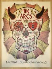 2015 The Arcs - Chicago Silkscreen Concert Poster black keys s/n by Dan Grzeca