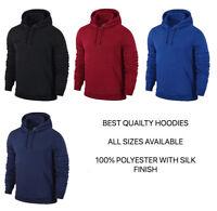 Top Quality Plain Hoodie Sweatshirt Jumper Polyester - men / women free P&P