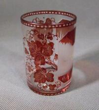 Antique Bohemian Glass Beaker 19th century