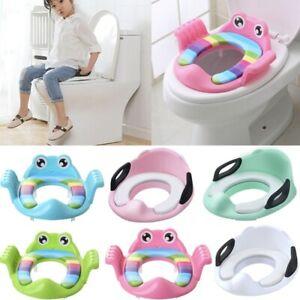 Baby Children Kids Toilet Potty Adjustable Step Stool Training Seats Chair Hot