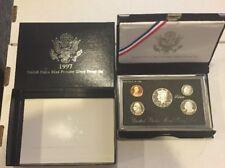 1997 Silver Premier Proof Coin Set US Mint