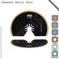 Segmentsägeblatt Titan 100mm Buntmetall für Multifunktionswerkzeug Multi Tool