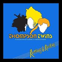 """Thompson Twins - Remixes And Rarities - Collection Of Classic 12"""" Mixes 2CD set"""