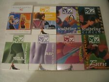 8 Winsor Pilates Workout Dvd Lot 20 Minute Advanced Body Slimming Fat Burning