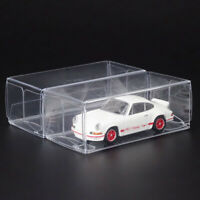 1:64 Clear PVC Protector Display Box Show Case For Diecast Model Toys Car