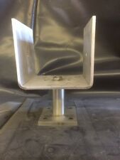 Stainless Steel Timber Fence Post Shoe Post Support for 125 x 125mm Square Posts
