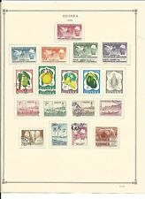 Guinea Collection 1914 to 1973 on 35 Scott International Pages