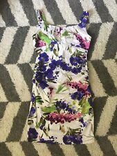 New Directions Floral Fitted Cocktail Dress 14 ND Dress