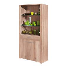 Commode buffet vitrine meuble de rangement bureau cuisine séjour décor CHÊNE