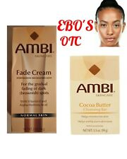 AMBI Skincare Fade Cream for Normal skin 2oz Combo Set