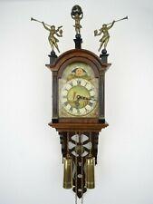 Warmink WUBA Vintage Dutch Schippertje Friesian Wall Clock Holland (Zaanse era)