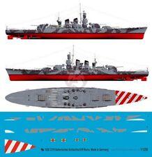 Peddinghaus 1/1250 RM Roma Italian Battleship WWII Markings w/Camo July '42 3319