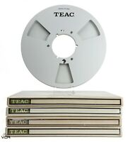 "TEAC RE-1002 10.5"" 26cm NAB Metal Reel to Reel Tape Reel 
