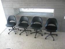 Knoll (4) Saarinen Executive Armless Chairs Barcelona / Eames /Mies Van Der Rohe