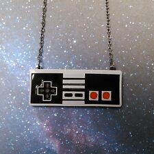 NES Nintendo Retro Video Game Controller Statement Pendant Necklace Vintage Game