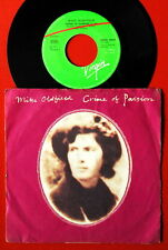 "MIKE OLDFIELD CRIME OF PASSION/JUNGLE GARDENIA 1984 RARE EXYU 7"" PS NMINT"