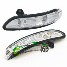 Set Of 2 L + R Door Mirror Turn Signal Light For 07-10 Mercedes W211 W221 W219