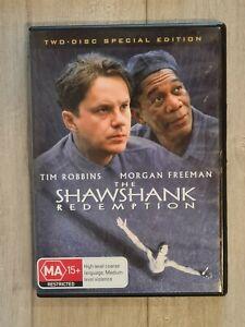 The Shawshank Redemption Special Edition 2 Disc DVD - Region 4 - FAST POST