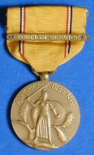 UNITED STATES AMERICAN DEFENSE SERVICE MEDAL WITH FOREIGN SERVICE BAR      R8048