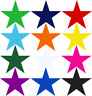 60 woven stars plus iron on glue backing badges badge guides crafts award patch