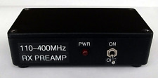 Scanner Preamp 110-400MHz, 18dB gain, battery powered.  Made in Dorset UK