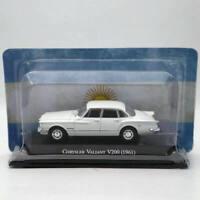 IXO Altaya 1:43 Chrysler Valiant V200 1961 White Diecast Models Limited Edition