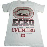 Ecko Unltd. Unlimited Men's Stomp On The Comp Logo Printed Graphic Tee T-Shirt