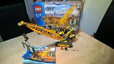 LEGO - 7632 - CITY - CRAWLER CRANE - 100% COMPLETE - BOX AND INSTRUCTIONS -