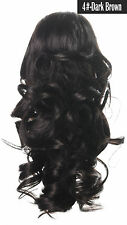 OneDor 12 Curly Synthetic Clip in Claw Ponytail Hair Extension Synthetic 115g a