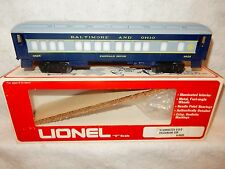 Lionel 6-9525 Baltimore & Ohio lighted passenger car for O gauge never used!---