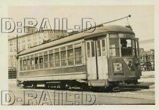 9D279 RP 1949 TARS THIRD AVENUE RAILWAY SYSTEM CAR #121 MT VERNON STATION